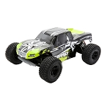 AMP MT 1:10 2wd R/C Monster Truck: Black/Green RTR
