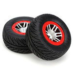 Speedtread Robber SC Mounted Tires w/22mm Backspacing