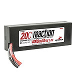 Reaction 7.4V 4000mAh 2S 20C LiPo Battery w/Deans