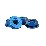 JConcepts Black Alum Serated 8/32 Locking Wheels Nuts for Associated