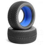 JConcepts Subcultures 1/10 SC Tires, Green (2)