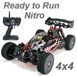 Hyper SS Ready to Run 1/8 Nitro Buggy (Black)