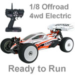 Hyper SSe RTR Electric 1/8 Ready to Run Offroad Buggy Orange