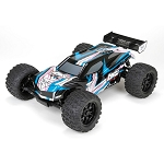 Losi Ten-MT 1:10 4wd RTR Short Course Truck, Black/Blue