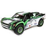 Losi Super Baja Rey 1/6 4wd Electric Truck RTR: Black