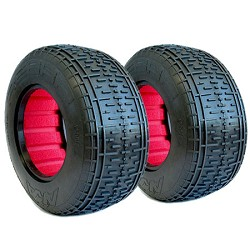 AKA 1/10 Short Course Tires, 2.2x3.0 Rebar, Soft (2)