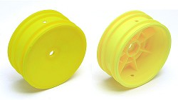 B4 Buggy Front Wheel, Hex, Yellow