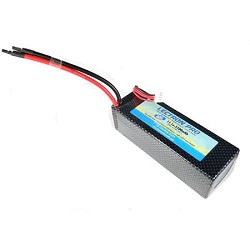 Common Sense RC Lipo Battery, 5100mAh 3S 11.1 Volt 40C