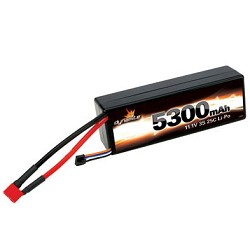 LiPo Battery Pack, Dynamite 11.1 Volt 5300mAh 3S 25C w/Deans Connector