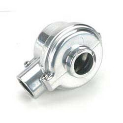 Polished Aluminum Diff Case, Losi Lst, Lst2, Aftershock