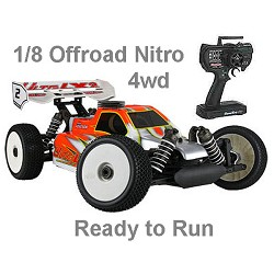 Ofna Ultra Lx2 2.4Ghz RTR 1/8 Buggy w/.28 Engine