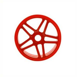 OFNA 1/8 Buggy Wheels Hyper Star Spoke Red (4)