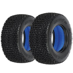 Proline 1/10 Short Course Tires, 2.2x3.0 Caliber 2.0, M2 (2)