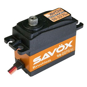 Savox SB-2270SG Monster Torque Brushless HV Digital Servo .12sec/444oz