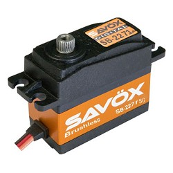 Savox SB-2271SG High Speed Brushless HV Digital Servo .07sec/277oz