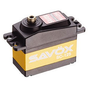 Savox SC-1258TG Super Speed Digital Servo .08sec/167oz