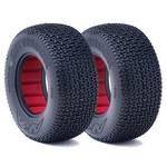 AKA 1/10 Short Course Tires, 2.2x3.0 City Block, Soft (2)