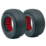 AKA Wishbone 2 Wide Short Course Tires, Clay