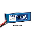 Reaction 11.1V 5700mAh 3S 80C LiPo, Hardcase:Deans