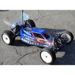 JConcepts Illuzion Finnisher Body & Wing, RC10B4.1 +8mm (clear)