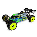 JConcepts Silencer Clear Body for TLR 8ight-E 3.0