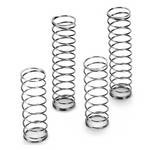 Front And Rear Spring Set (4) Soft (Silver), Losi Ten-Scte