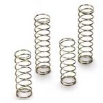 Front And Rear Spring Set (4) Firm (Gold), Losi Ten-Scte