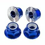 Special Cnc 4mm Flanged Locking Wheel Nuts