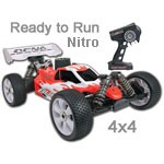 OFNA Buggy 8 Nitro 1:8 Ready to Rip w/Red Body