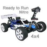 OFNA Buggy 8 Nitro 1:8 Ready to Rip w/Blue Body