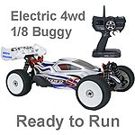 Hyper SSe RTR Electric 1/8 Ready to Run Offroad Buggy Blue