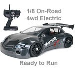 OFNA 1/8 Hyper GTe Electric 4wd Touring Car RTR Gray