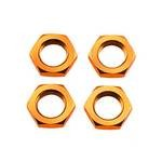 Wheel Nut, Orange 4Pcs