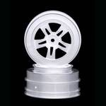 Wheel, Hyper Short Course w/27mm Backspace, White (2)