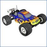 Body, Crt Truggy. Blue