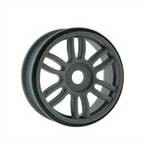 Dual Spoke 17mm Dark Grey Wheels (4 total)