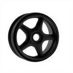Ofna 1/8 Buggy Wheels, 5-Spoke, Black (4)