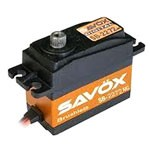 Savox SB-2272MG Lightning Speed Brushless HV Digital Servo .03sec/97oz