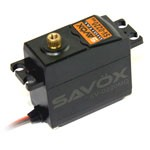 Savox SV-0220MG High Voltage Digital Servo, 0.13/111.1 @7.4