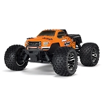 Arrma ARA102666 Arrma 1/10 Granite 4x4 3S BLX Mnstr RTR: Orange/Black