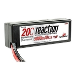 Reaction 11.1V 5000mAh 3S 20C LiPo Battery w/Deans