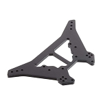 Arrma AR330222 Shock Tower Rear L Aluminum Black Kraton