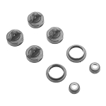 Arrma AR330337 Shock Cap Set Nero (2)