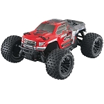 Arrma AR102676 1/10 Granite Mega 4x4 RTR Monster Truck: Red/Black