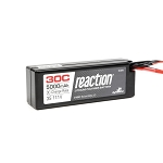 Reaction 11.1V 5000mAh 3S 30C LiPo Hard Case: EC3