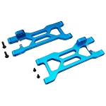 Blue Aluminum Rear Suspension Arms: ECX 2wd