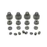 Shock Cap, Piston, Pivot Ball Set: 1:10 2wd All