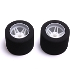 Mugen 1/8 MRX On-Road Mounted Rear Tires, 37 Shore