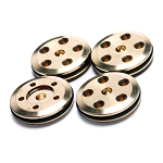 Mugen FP 5-Hole (1.45mm) Brass 16mm Pistons w/O-Rings (4)