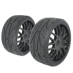 VP-Pro GT Mounted On-Road Belted Tires, 45 Shore